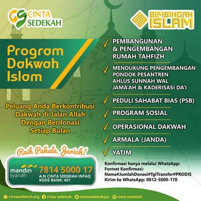 program dakwah islam 400