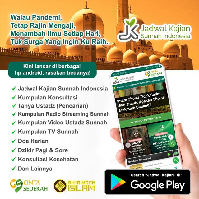 install jadwal kajian sunnah indonesia