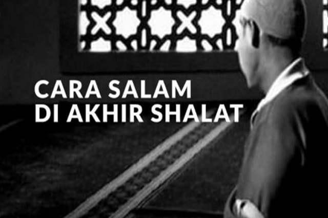 Cara Salam Ketika Shalat